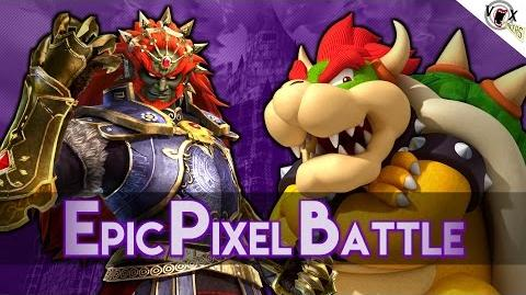 Bowser Vs Ganondorf - Epic Pixel Battle EPB 05
