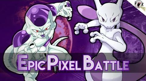 Mewtwo VS Freezer - Epic Pixel Battle EPB 07
