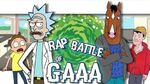 Rick Sanchez VS Bojack Horseman Rap Battle of GAAA 17
