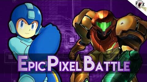 Megaman Vs Samus Aran - Epic Pixel Battle EPB 03