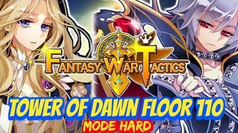 Fantasy War Tactics ToD Tower of Dawn 110 June 2016 !
