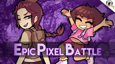 Lara Croft VS Dora l'exploratrice - Epic Pixel Battle EPB 11