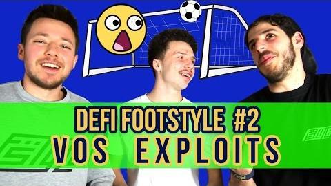 Défi Footstyle 2 (Crossbar) - VOS EXPLOITS !