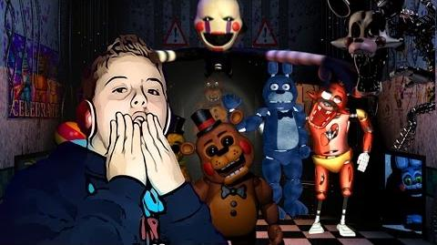 FIVE NIGHTS AT FREDDY'S 2 - DES ANIMATRONICS PAS SI MIGNONS !