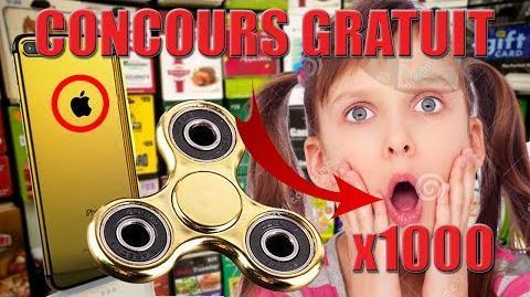-CONCOURS- GAGNE TON HANDSPINNER EN OR ET UN IPHONE 7 PLUS GRATUITEMENT