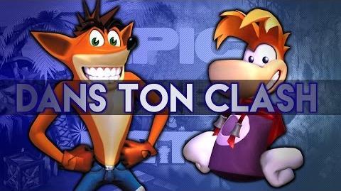 DTC!! Rayman Vs Crash Bandicoot - EPB 08 - Dans ton clash