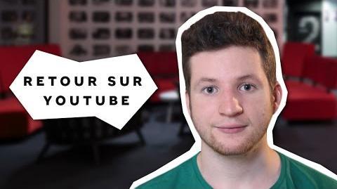 De retour sur youtube