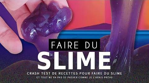 CRASH TEST faire du Slime (comestible)