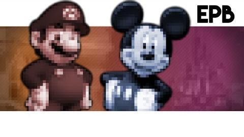 Mario Vs Mickey - Epic Pixel Battle EPB 01