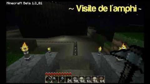 Construction Minecraft Amphithéâtre