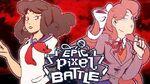 Yandere Chan VS Monika - EPIC PIXEL BATTLE EPB SAISON 3
