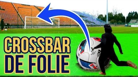 CROSSBAR CHALLENGE DE FOLIE !! (Défi Footstyle 2)