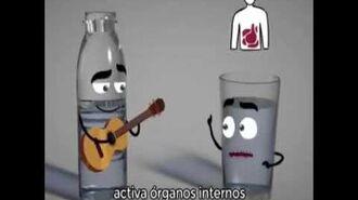 Canción que enseña lo importante de tomar agua