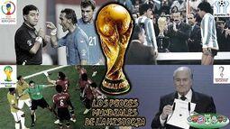 Los Peores Mundiales de la Historia ⚽🌎🌍🌏💩