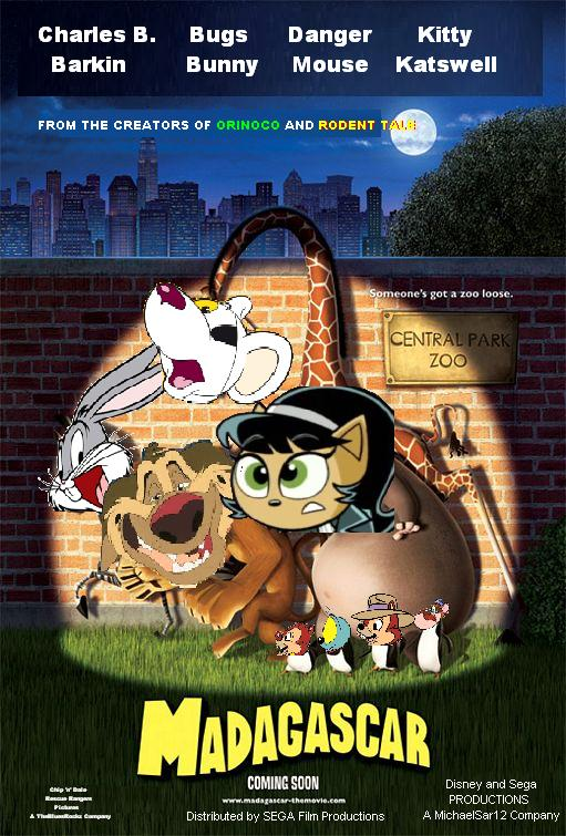 Madagascar (Disney and Sega Animal Style) series   Youtubescratch ...