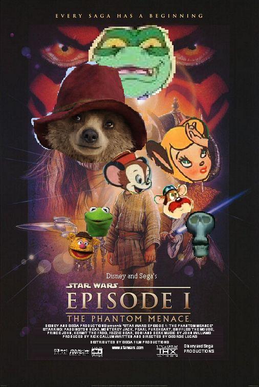 Star Wars Episode 1: The Phantom Menace (Disney and Sega ...