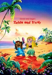 Zelda and Itchy Poster