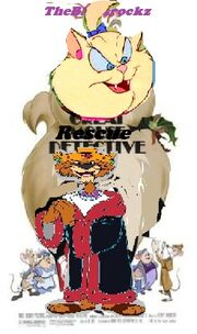 The great Rescue Ranger Detective (Second) poster