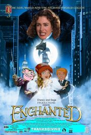 Enchanted (Disney and Sega Style) Poster