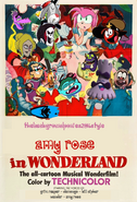 Thebackgroundponies2016Style Amy Rose in Wonderland