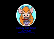 Disney and Sega Junior Logo