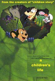 A Children's Life Poster