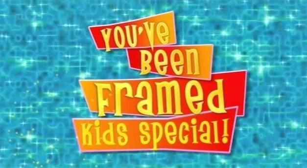 Image - YouveBeenFramedKidsSpecialLogo.jpg   You\'ve Been Framed ...