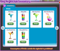 Club inventory 2