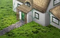 Irish Thatched Cottage SP2017