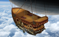 Steampunk Airship SK2015