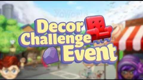 Decor Challenge Event