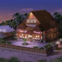 Hawaiian Night Cottage