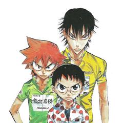 Onoda with Imaizumi and Naruko.