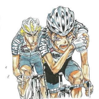 Fukutomi with Toudou.