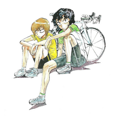 Teshima with Aoyagi.