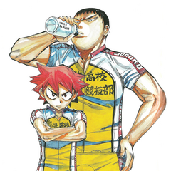 Naruko with Tadokoro.