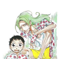 Onoda with Makishima.