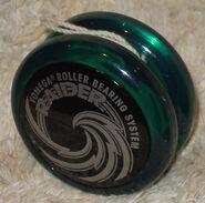 Dark green raider