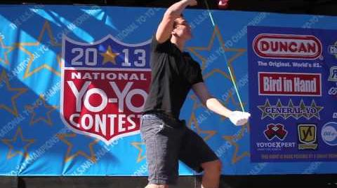 4A Finals - 1st Ian Johnson- 2013 National Yo Yo Contest Presented By Duncan Toys