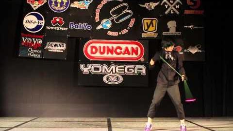 5A Finals - 4th - Hideo Ishida - 2013 World Yo-Yo Contest