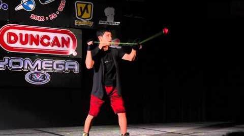 YoYoFactory presents Izuru Hasumi 1a 6th World YoYo Contest 2013