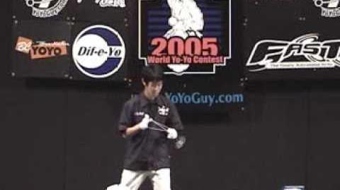 Hiroyuki Suzuki (Mickey) Worlds 05 1A Freestyle (1st Place)