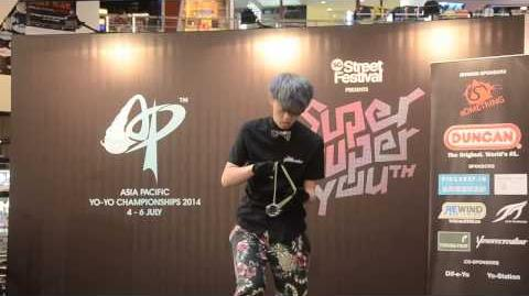 C3yoyodesign Present AP2014 1A Final 2nd Iori Yamaki