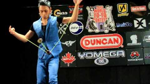 3A - Finals - 2nd - Wang Kit Ng - 2012 World Yo-Yo Contest