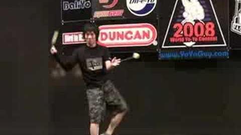 【ヨーヨー】world yo-yo contest 2008 final 2a 01 takuma yamamo