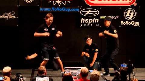 YoYoFactory Presents SHAQLER World Yo-Yo Contest AP division 1st Place