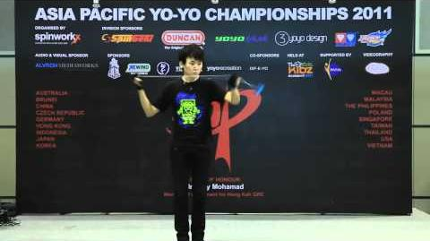 AP11 1A Finals 11th - Luo Yicheng (CN) - Asia Pacific Yo-yo Championships 2011
