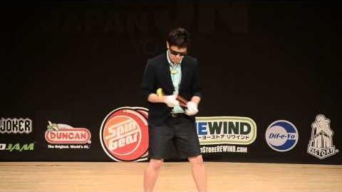 2013 Japan National Yoyo Contest 1A 3rd Hiroyuki Suzuki