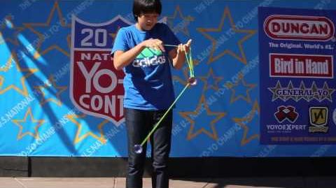 3A Finals - 1st Alex Hattori- 2013 National Yo Yo Contest Presented By Duncan Toys