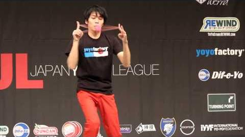 2014 East Japan Yoyo Contest - Reiki Sekiya